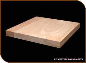 Rubberwood Finger Joint Laminated Board
